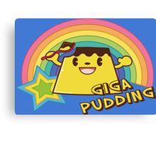 Giga Pudding Canvas Print
