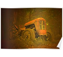 Classic tractor Poster
