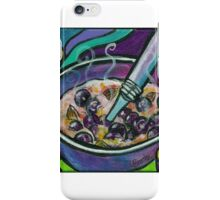 Blueberry Almond Oatmeal iPhone Case/Skin