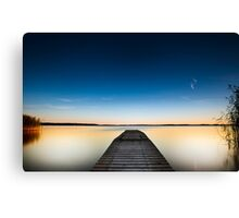 Skinny dipping Canvas Print
