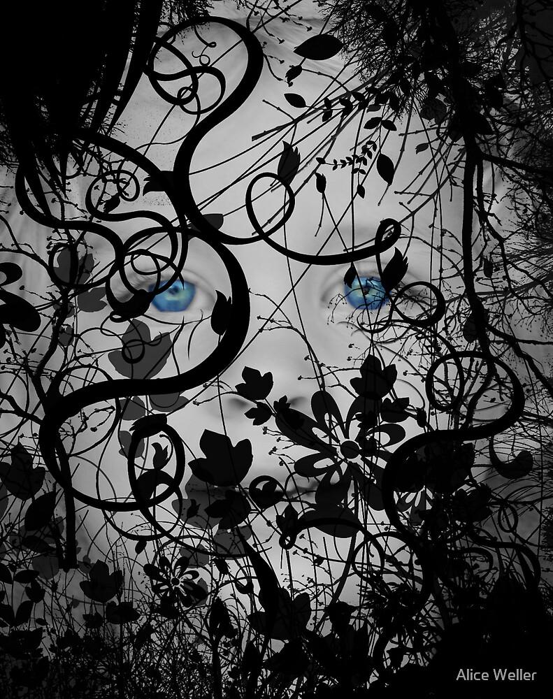 Blue Eyed Angel by Alice Weller