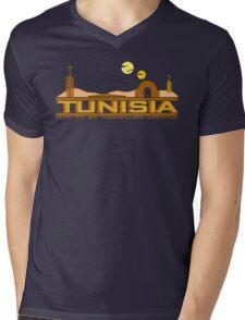 Tunisia Traveller Mens V-Neck T-Shirt