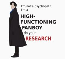High Functioning Fanboy  Kids Clothes