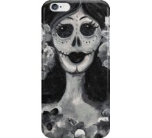 Day of the Dead Lady iPhone Case/Skin