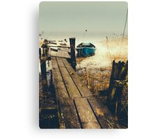 Crooked fisherman Canvas Print