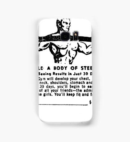 Build a Body of Steel Samsung Galaxy Case/Skin