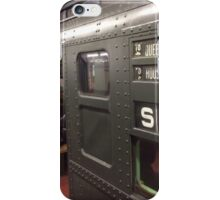 Vintage 1930s IND Subway Car, New York Transit Museum Nostalgia Trip, New York City  iPhone Case/Skin