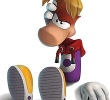 Rayman (with shadows) by Cyberbob