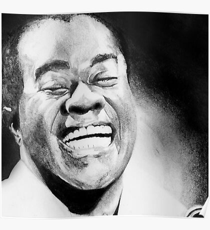 Portrait of Satchmo Poster