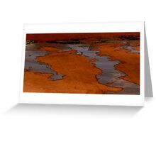 Wet and Wild Puddle Greeting Card