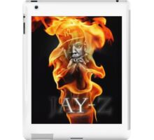 Jay-Z Flame On iPad Case/Skin