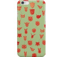 Circus Masks iPhone Case/Skin