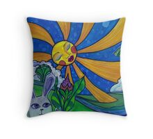 Sunday Funday! Throw Pillow