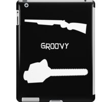 evil dead groovy v3 iPad Case/Skin
