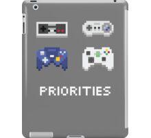 Priorities iPad Case/Skin