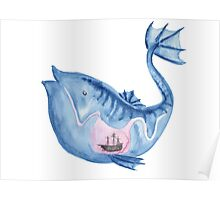 Look I drew a fish Poster