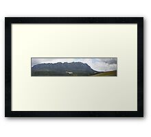 Mt Roland Panorama Framed Print