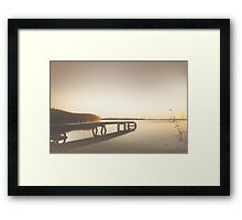 Summer bleech Framed Print