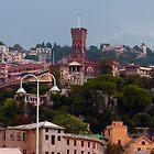 Genoa skyline by Tom Gomez