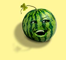 Happy melons rule the world by Kurt  Tutschek