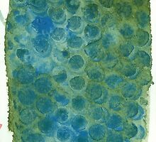 Watercolor Abstraction: Bubble Wrap by Megan  Koth