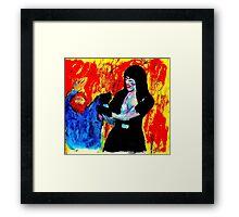 """Tough Lady"" Framed Print"