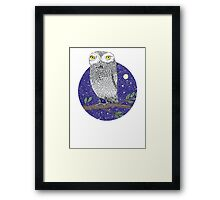 Night Owl Framed Print