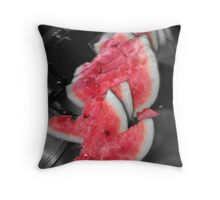 summer slices Throw Pillow