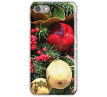 Dressed in holiday style iPhone Case/Skin