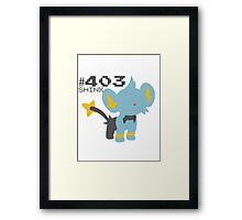 SHINX! POKEMON Framed Print