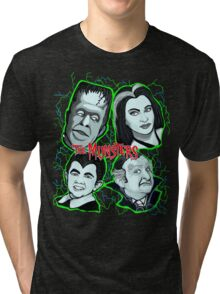 munsters portrait Tri-blend T-Shirt