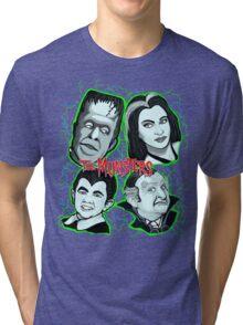 munsters portrait Tri-blend T-Shirt