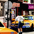 New York Yellow Cabs - Roller Skates by Martine Carlsen