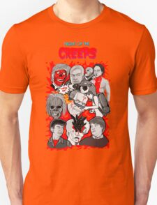 night of the creeps collage Unisex T-Shirt