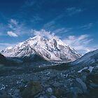 Bhagirathi Parbat from the Gangotri Glacier by HelenB