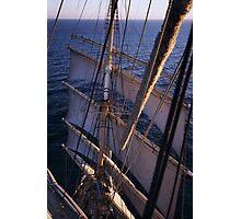 Sedov in the Baltic Sea Photographic Print