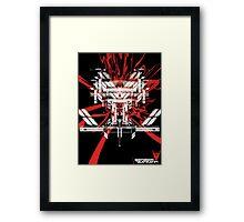 """Skeptik's """"Red Lace"""" Framed Print"""