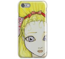 Blonde Girl Watercolor iPhone Case/Skin