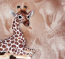 Giraffic Art by Maria Dryfhout