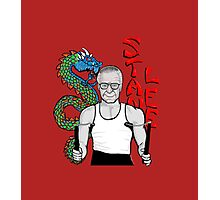 "stan ""the dragon"" lee Photographic Print"