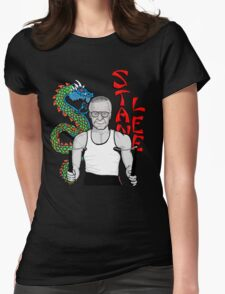 "stan ""the dragon"" lee Womens Fitted T-Shirt"
