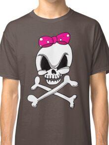 Girls Skull and Crossbones Classic T-Shirt