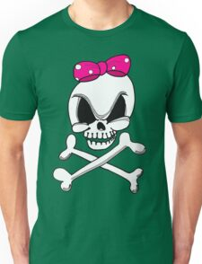 Girls Skull and Crossbones Unisex T-Shirt