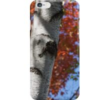 three white trunks iPhone Case/Skin
