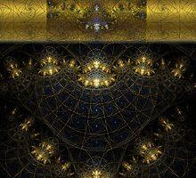 Golden Circuitry by barrowda