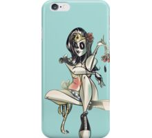 Wonder Woman (Day of the Dead) iPhone Case/Skin