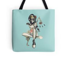 Wonder Woman (Day of the Dead) Tote Bag