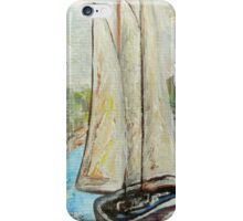 On a Cloudy Day - Impressionist View iPhone Case/Skin