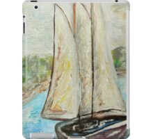 On a Cloudy Day - Impressionist View iPad Case/Skin