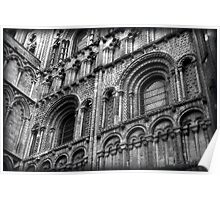 Urban gothic: Ely Cathedral  Poster